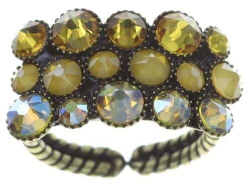 Konplott Inside Out Ring in gelb 5450543730592