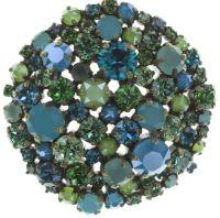 Vorschau: Konplott Ballroom Halskette mit Anhänger in blau/grün 5450543725826