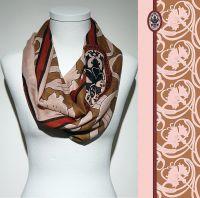 Vorschau: Konplott Schal Floral 16 in rosa/braun 5450543807096