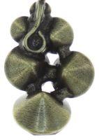 Vorschau: Konplott Petit Glamour Halskette mit Anhänger in dunkelblau 5450543760056