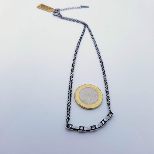 Konplott Industrial Halskette in weiß 5450543767161