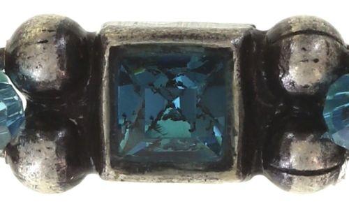 Konplott Bead Snakes elastisches Armband blau 5450543662350
