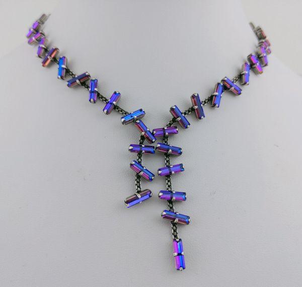 Konplott Jumping Baguette Halskette Fire Violet 5450543813134