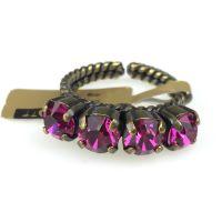 Vorschau: Konplott Colour Snake Ring in fuchsia, pink 5450527257084