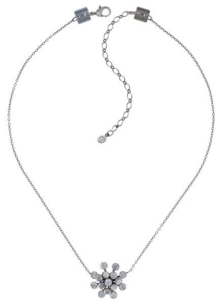 Konplott Magic Fireball Halskette mit Anhänger Creamy White klassisch 5450543895314