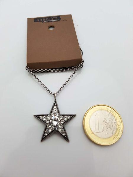 Konplott Dancing Star Halskette mit Anhänger in weiß Größe L 5450543774701