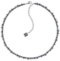 Vorschau: Konplott Water Cascade steinbesetzte Halskette in blau/braun 5450543772905