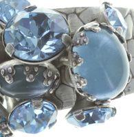Vorschau: Konplott Jelly Star Ring in hellblau 5450543714387