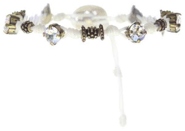 Konplott Festival Armband in weiß Messing 5450543746784