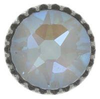 Vorschau: Konplott Black Jack Ohrstecker klein in weiß crystal grau 5450543768854