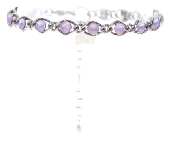 Magic Fireball Armband in lilashine crystal lavender de lite