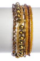 Konplott Petit Glamour d'Afrique Armband in braun 5450543897110