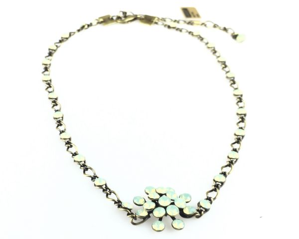 Konplott Magic Fireball chrysolite grün opal Halskette steinbesetzt 5450543133621