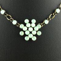Vorschau: Konplott Magic Fireball chrysolite grün opal Halskette steinbesetzt 5450543133621