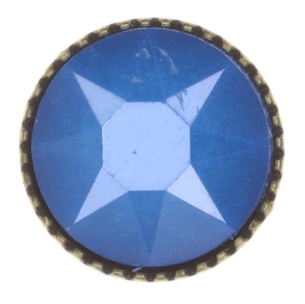 Konplott Black Jack Ohrstecker groß in blau crystal electric blue 5450543854052