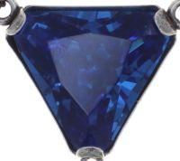 Vorschau: Konplott Mix the Rocks Y-Halskette in crystal blau 5450543789910