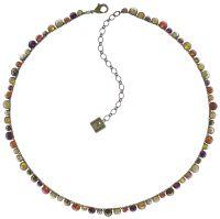 Vorschau: Konplott Water Cascade steinbesetzte Halskette in braun/orange 5450543772929