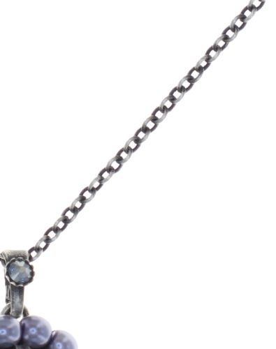 Konplott Kaleidoscope Illusion Halskette mit Anhänger in grau Größe S 5450543771380
