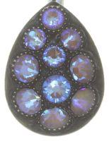 Vorschau: Konplott Tears of Joy Ohrhänger in braun crystal cappucci Größe M 5450543763484