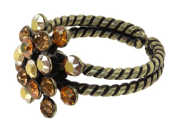 Konplott Magic Fireball Ring in braun mini 5450543914916