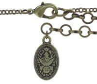Vorschau: Konplott Amazonia lange Halskette mit Anhänger in beige, Größe L 5450543753683