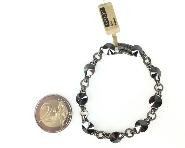Konplott Rivoli schwarzes Armband verschließbar 5450527612784