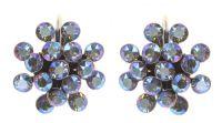 Vorschau: Konplott Magic Fireball Ohrhänger in blue black diamond shimmer mini 5450543914770