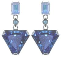Vorschau: Konplott Mix the Rocks Ohrstecker in crystal blau 5450543790190