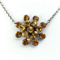 Vorschau: Konplott Magic Fireball Halskette mit Anhänger in topaz 5450527640527