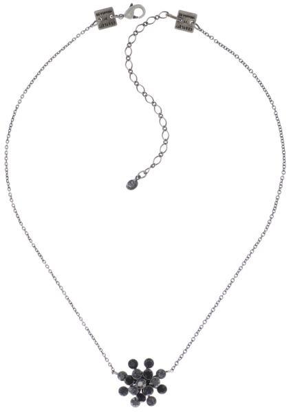 Konplott Magic Fireball Halskette in schwarz 5450543765778