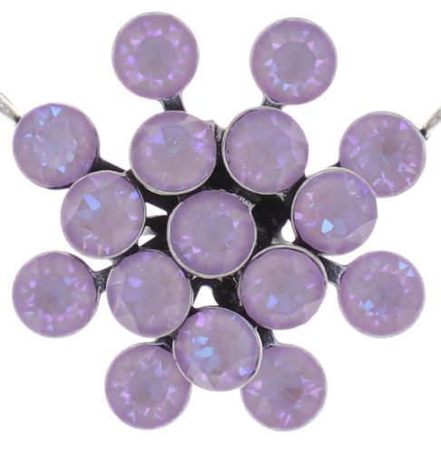 Konplott Magic Fireball Halskette in lilashine crystal lavender de lite 5450543852669