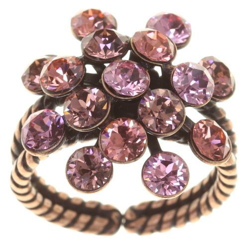 Konplott Magic Fireball Ring Rosy Rose klassisch 5450543813646