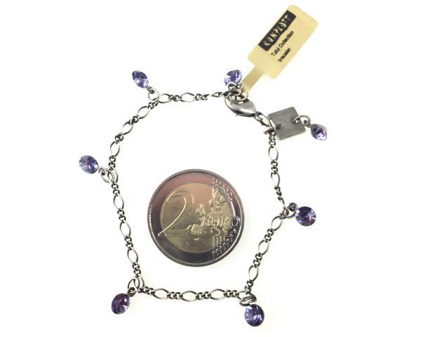 Konplott Tutui tanzanite Armband verschließbar 5450527274241