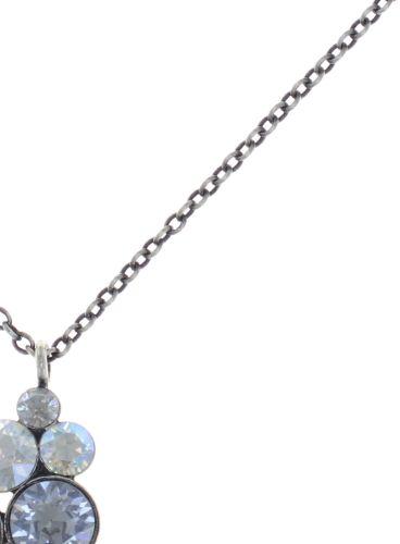Konplott Petit Glamour Halskette mit Anhänger in weiß 5450543760216