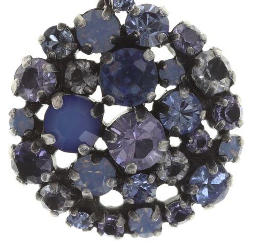 Konplott Ballroom blaue Halskette mit Anhänger 5450543642901