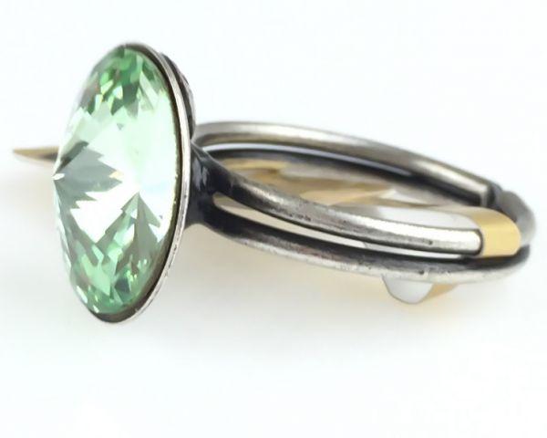 Konplott Rivoli chrysolite Ring hellgrün 5450527640855