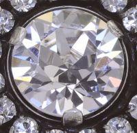 Vorschau: Konplott Rock 'n' Glam Ohrclip in crystal weiß 5450543778105