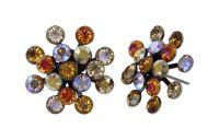 Konplott Magic Fireball Ohrstecker Amber in Classic Size 5450543936659