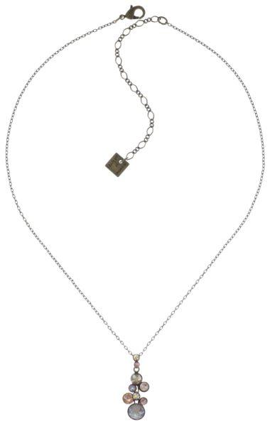Konplott Water Cascade Halskette mit Anhänger in beige 5450543766645