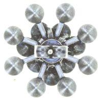 Vorschau: Konplott Magic Fireball Ohrstecker klassisch in blau 5450543765754