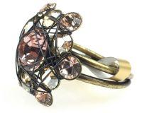 Vorschau: Konplott Bended Lights Ring in beige/vintage rose 5450527760034