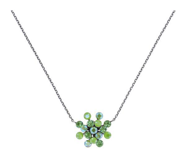 Konplott Magic Fireball Halskette in grün Classic Size 5450543904689