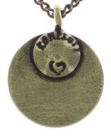 Vorschau: Konplott Spell on You Halskette mit Anhänger in gelb Messing 5450543735580