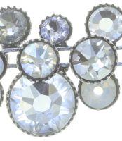 Vorschau: Konplott Water Cascade steinbesetzte Halskette in weiß 5450543753768