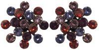 Vorschau: Konplott Magic Fireball Ohrstecker Ruby Violet in Classic Size 5450543936604