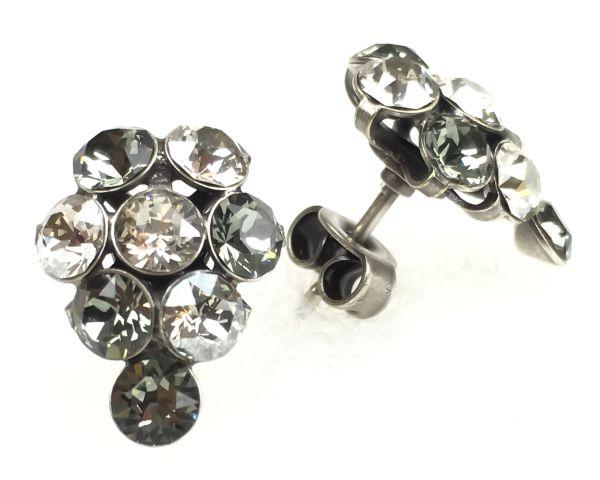 Konplott Magic Fireball crystal satin Ohrstecker Traube 5450527778374