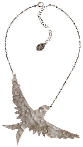 Konplott The Sparrow Halskette Größe XL in silber 5450543749631