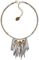 Konplott Global Glam Halskette Steine in apricot 5450543791067