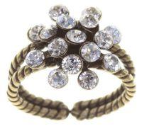 Konplott Magic Fireball Ring Mini Crystalline White 5450543813776