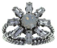 Vorschau: Konplott Spider Daisy Ring in weiß Größe S 5450543735917